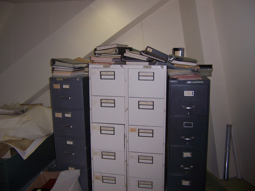 The halcyon days when astronomy filled filing cabinets.