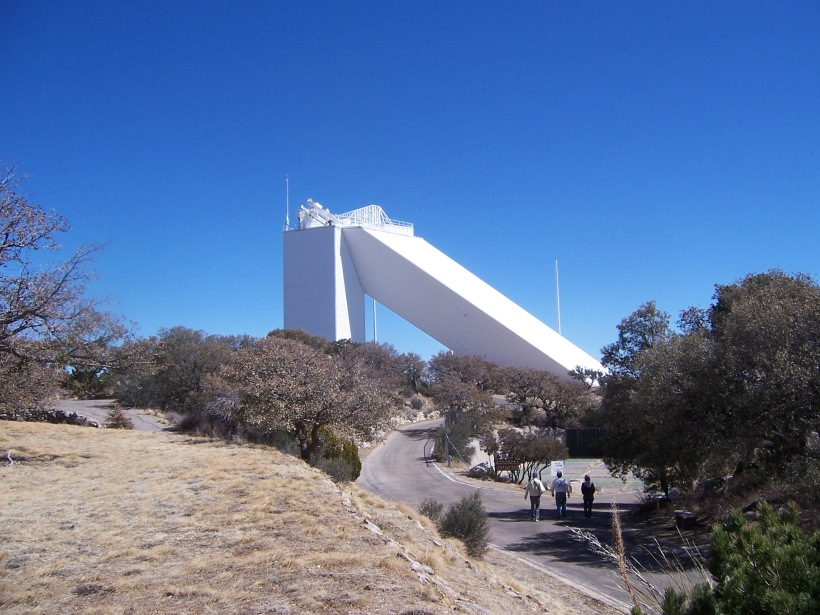 McMath-Pierce Solar Telescope.