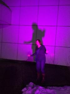 Purple wife, purple wife